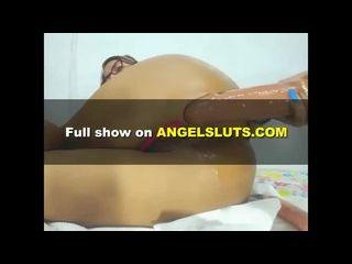 onzebiu loira gostosa fazendo muita putaria na webcam