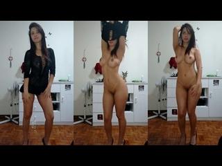 vídeo de mulher dançando pelada cheia de tesão na xoxota