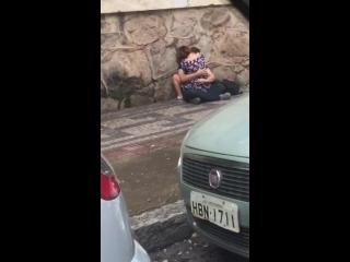 ver transando a gata safada saiu da quarentena e fez sexo na rua