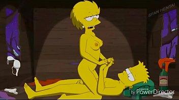 sexo nos simpsons bart metendo a piroca no cuzinho da irmã