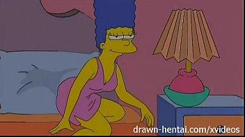 simpsons erotico marge lésbica transando com safada do desenho porno