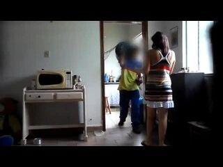 mulher chupando gostoso fazendo sexo com entregar de gás